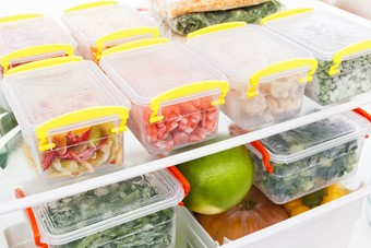 Out Top Freezer Organising Tips